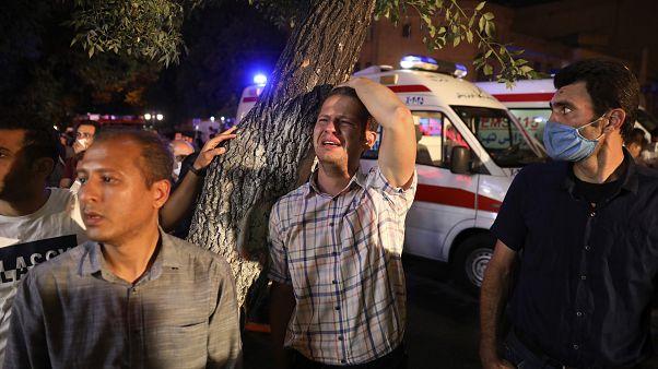 İran'ın başkenti Tahran'da 30 Haziran'da bir klinikte patlama meydana gelmiş, olayda 19 kişi yaşamını yitirmişti