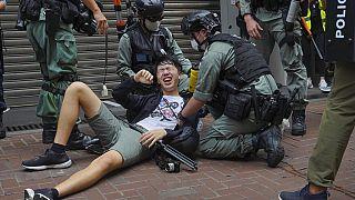 Hong Kong'da Ulusal Güvenlik Yasası kapsamında ilk tutuklama