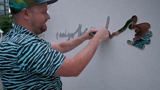 Dos metros de arte y acercamiento social