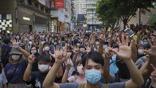 Hong Kong, arresti alla manifestazione anti-cinese