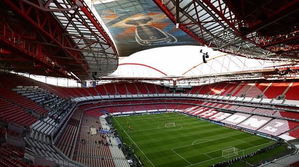 the Luz stadium