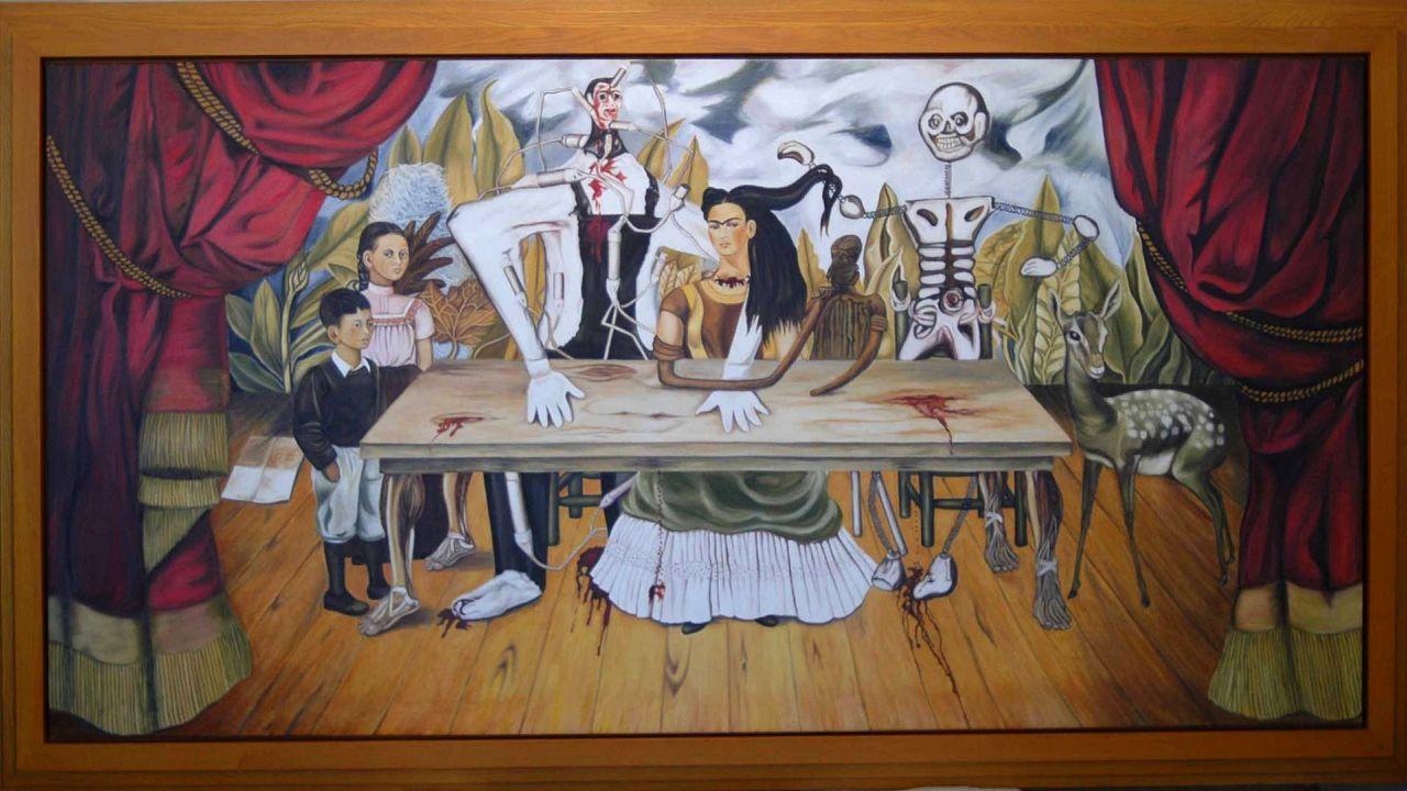 Frida Kahlo: A sérült asztal (La mesa herida)