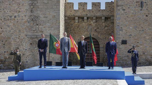 Virus Outbreak Portugal Spain
