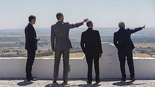 Chefes de Estado e de governo de Portugal e Espanha em Elvas