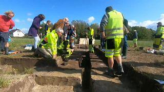 Excavations at the site in Gjellestad, south-east Norway began this week