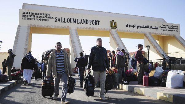 Mısır- Libya arasındaki Sallum Sınır Kapısı (arşiv)