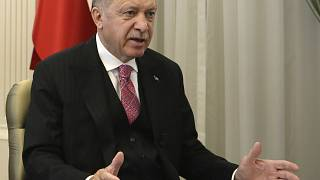 Recep Tayyip Erdogan addressed members of his ruling party in a televised address in Ankara on Wednesday.