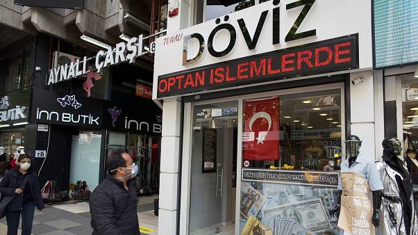 Ankara'da döviz bürosu