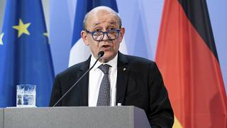 جان إيف لودريان، وزير الخارجيّة الفرنسي