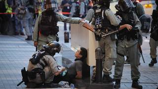 Hundreds arrested in Hong Kong amid protests over new security law