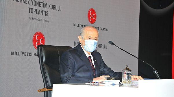MHP Genel Başkanı Devlet Bahçeli sosyal medya boykotu kararını Twitter'dan açıkladı
