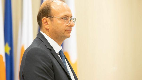 Ο Υπουργός ¨Αμυνας της Κύπρου Χαράλαμπος Πετρίδης