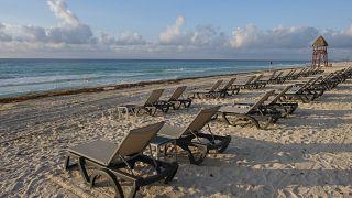 Meksika'nın turistik Cancun kenti