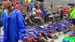 Μιανμάρ: Τραγωδία σε ορυχείο νεφρίτη με δεκάδες νεκρούς