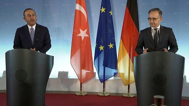 Deutsch-Türkisches Außenminister-Treffen in Berlin