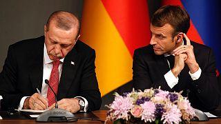 Macron ve Erdoğan