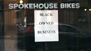متجر دراجات في بوسطن