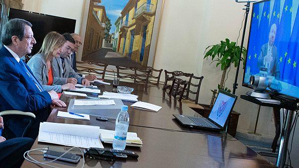Πρόεδρος Αναστασιάδης προς Σαρλ Μισέλ: Η ΕΕ να λάβει αυστηρή στάση έναντι της Τουρκίας