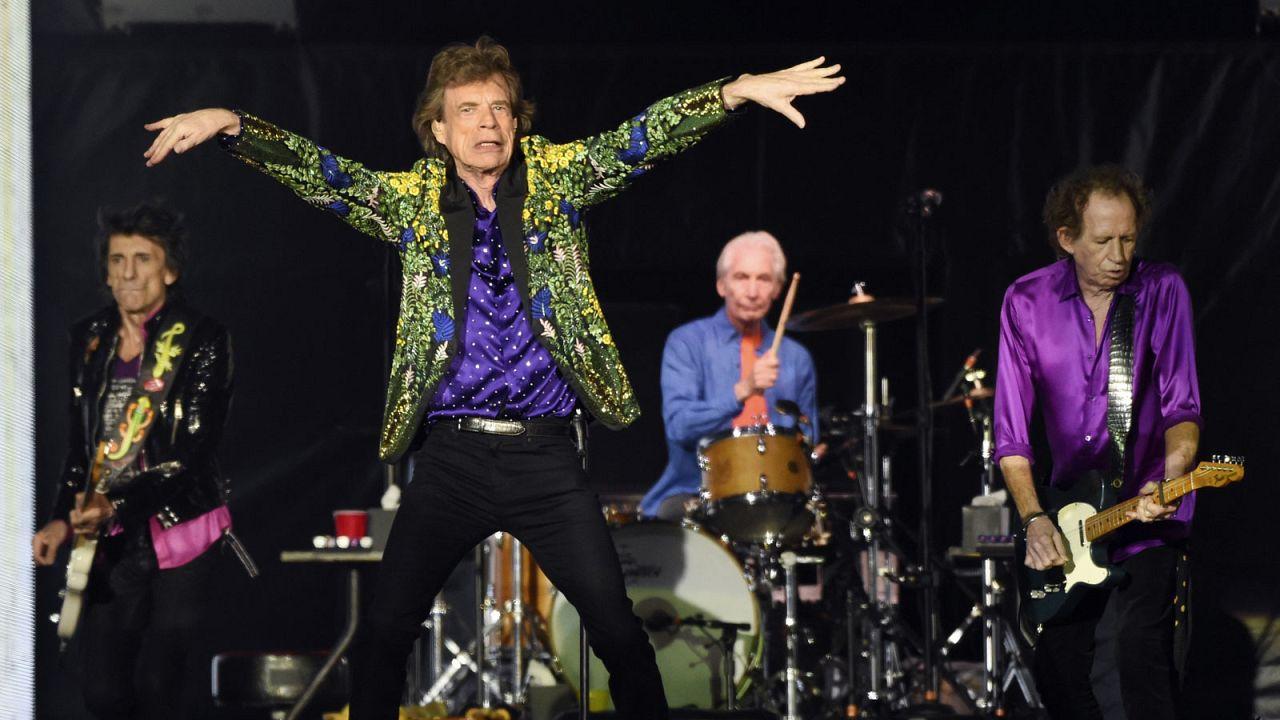 Archives : les Rolling Stones sur scène le 22 août 2019 à Pasadena aux Etats-Unis