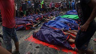 Myanmar maden kazası