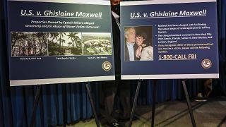 Gehilfin beim Missbrauch: Epstein-Partnerin Maxwell verhaftet