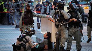اعتراضها در هنگکنگ