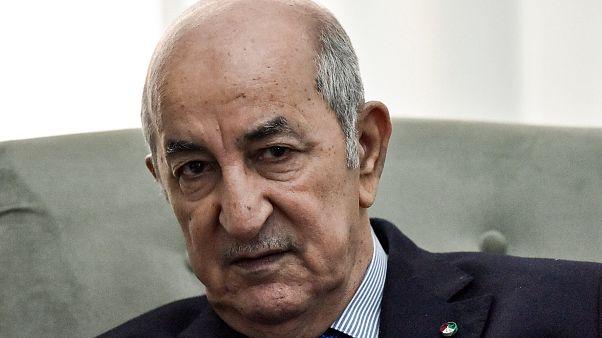 Cezayir Cumhurbaşkanı Abdulmecid Tebbun