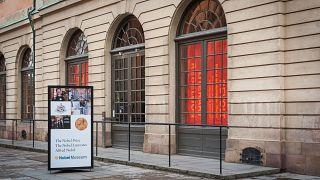 واجهة متحف جائزة نوبل في ستوكهولم السويدية