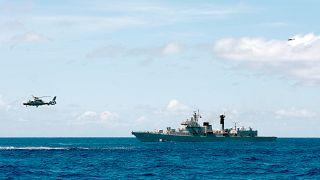 التدريبات العسكريّة الصينيّة في بحر الصين الجنوبي- أرشيف