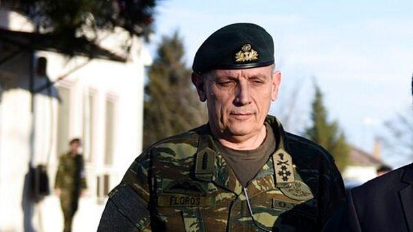 Yunanistan Genelkurmay Başkanı Konstantinos Floros