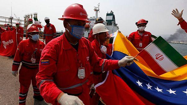 اقدام تازه آمریکا برای توقیف نفتکشهای ایرانی در مسیر ونزوئلا