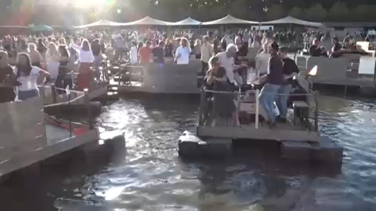 Koronavírus-biztos fesztivál a folyón