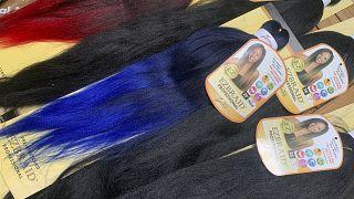 تجارة الشعر المصنع