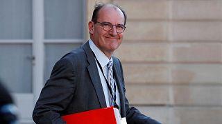 Archives : Jean Castex, le 19 mai 2020, sortant du palais de l'Elysée