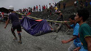 Erdrutsch in Myanmar: Über 170 Tote