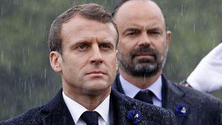 Emmanuel Macron e Edouard Philippe