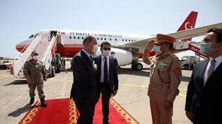 Hulusi Akar Libya'da