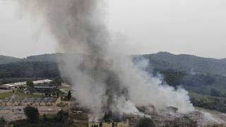 Turkey fireworks factory: Two dead and dozens injured in explosion