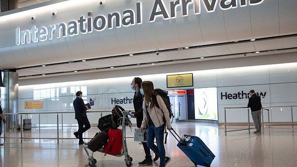 بریتانیا نام کشورهایی را که مسافران آنها نیاز به قرنطینه ندارند اعلام کرد