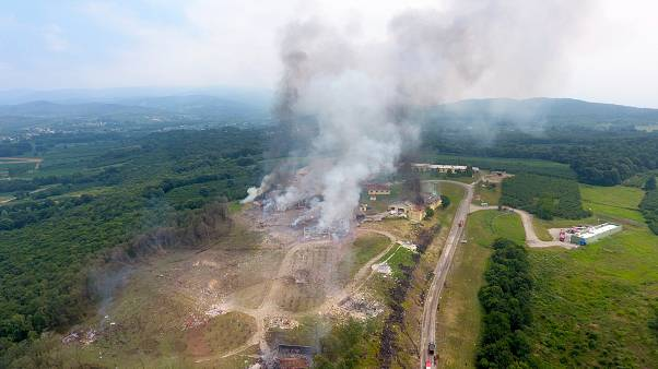 Sakarya'da patlama: 4 işçi hayatını kaybetti 97 işçi yaralandı 3 işçi kayıp