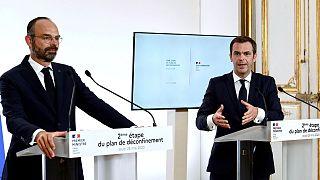 Archives : Edouard Philippe et Olivier Véran, le 28 mai 2020