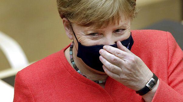 Angela Merkel am 3. Juli 2020