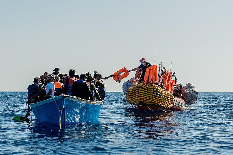 Flavio Gasperini/Flavio Gasperini / SOS MEDITERRANEE / AP