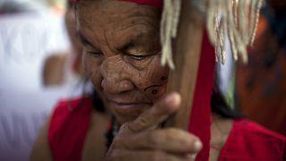 A pemoni őslakos asszony (illusztráció)