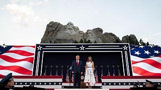 ترامپ در انتقاد از تخریب نمادهای نژادپرستی: هدف دشمنان نابودی تاریخ آمریکا است