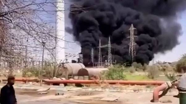 انفجارهای زنجیرهای در ایران؛ وقوع آتشسوزی در نیروگاه زرگان اهواز