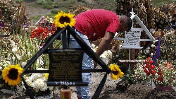 Trauer um Angehörige in Mexiko