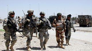 جنود أمريكيين في العراق