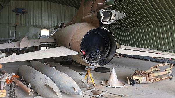 UMH güçleri, 3 Nisan'da Vatiyye'ye düzenlediği hava operasyonunda üste bulunan Hafter'e 3 adet Su-22 savaş uçağı ile çok sayıda ağır silah ve tesisi imha etmişti