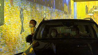 Van Gogh façon drive-in : le concept fait recette à Toronto